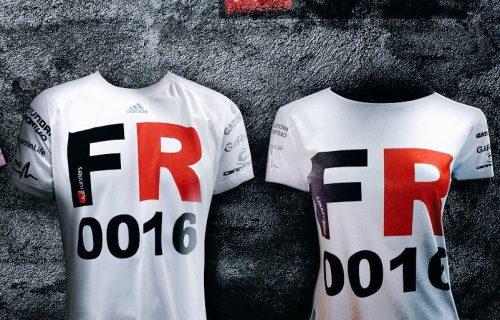 6. Polera Oficial FR Adidas Running Blanca